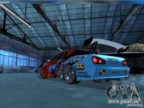 Vinyle EvilEmpire pour GTA San Andreas sur la vue arrière gauche