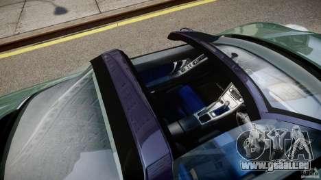 Honda NSX NA2 [Beta] pour GTA 4 vue de dessus