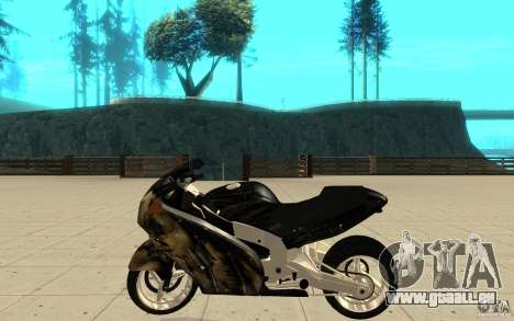 GTAIV TLAD Hakuchou Custom Version [paintjob] für GTA San Andreas linke Ansicht