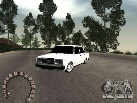 VAZ 2107 BPAN pour GTA San Andreas