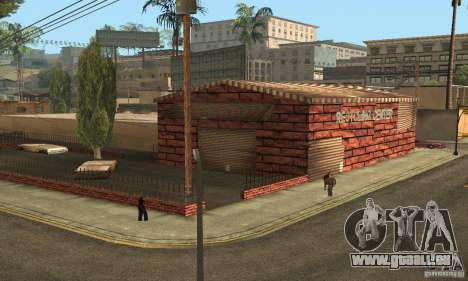 Grove Street 2013 v1 für GTA San Andreas her Screenshot