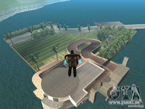 Insel-Villa für GTA San Andreas