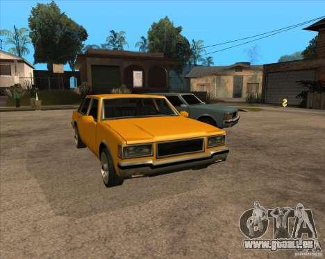 New Greenwood für GTA San Andreas Rückansicht