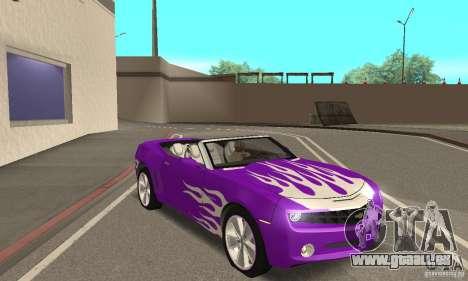 Chevrolet Camaro Concept 2007 pour GTA San Andreas