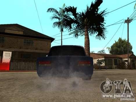 VAZ 2106 coupé pour GTA San Andreas laissé vue
