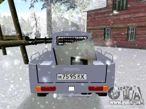 IZH-27151 pour GTA San Andreas vue arrière