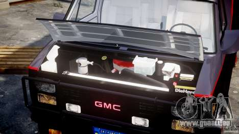 GMC Van G-15 1983 The A-Team für GTA 4 rechte Ansicht