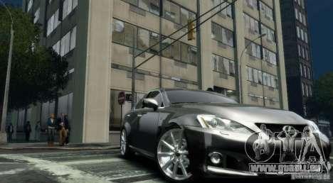 Lexus IS-F pour GTA 4 est un droit