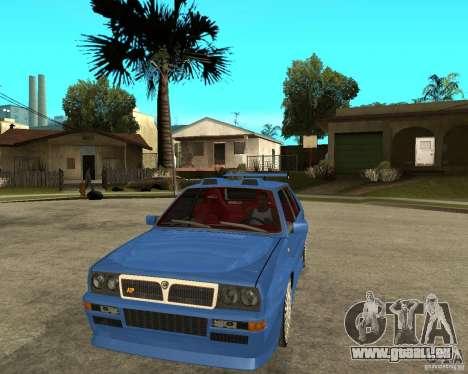 Lancia Delta Sparco pour GTA San Andreas vue arrière