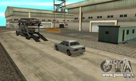 Avtoparkovŝik pour GTA San Andreas troisième écran