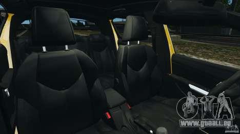 Peugeot 308 GTi 2011 Police v1.1 für GTA 4 Innenansicht