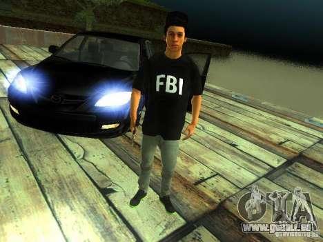 Garçon au FBI pour GTA San Andreas