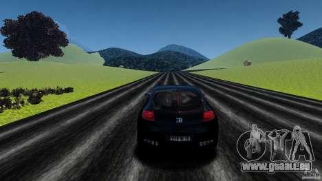 Bugatti Galibier 2009 für GTA 4 Unteransicht