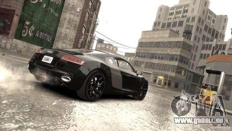 Audi R8 V10 2010 [EPM] pour GTA 4 vue de dessus