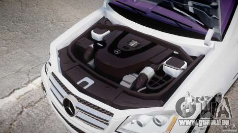 Mercedes-Benz GL450 für GTA 4 Innenansicht