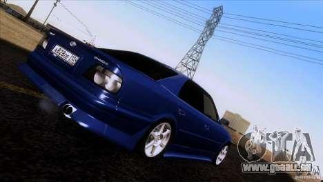 Toyota Chaser Tourer pour GTA San Andreas laissé vue