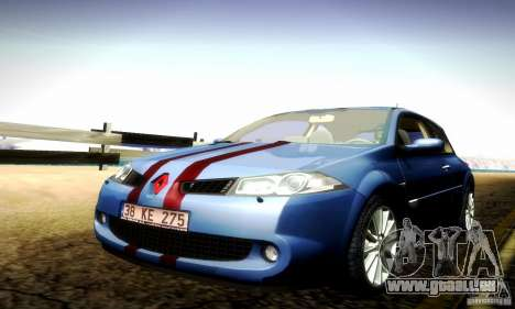 Renault Megane Coupe 2008 TR pour GTA San Andreas vue intérieure