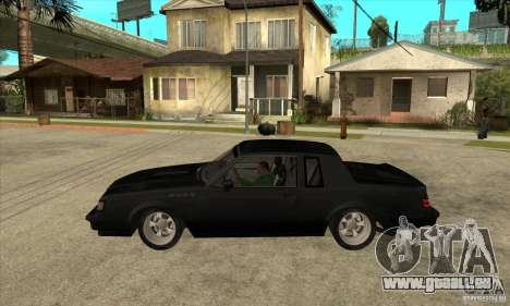 Buick Regal Grand National GNX für GTA San Andreas linke Ansicht