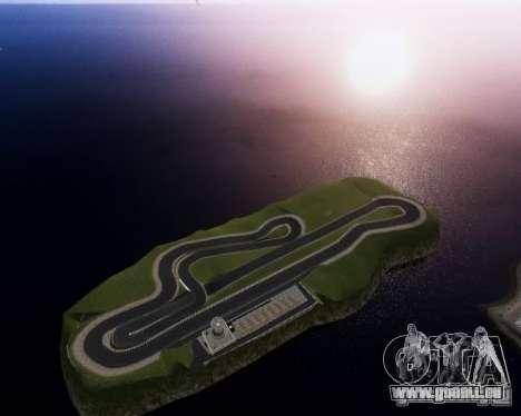 CEA Speedway IV pour GTA 4 troisième écran
