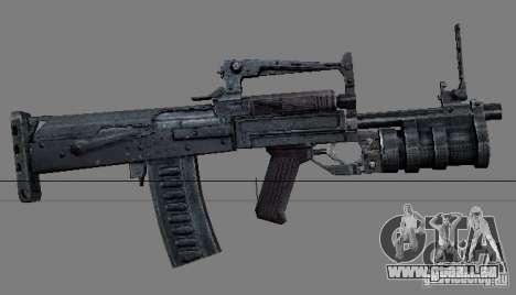 Une série d'armes de stalker V2 pour GTA San Andreas huitième écran