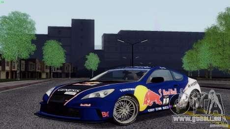 Hyundai Genesis Tunable für GTA San Andreas Seitenansicht