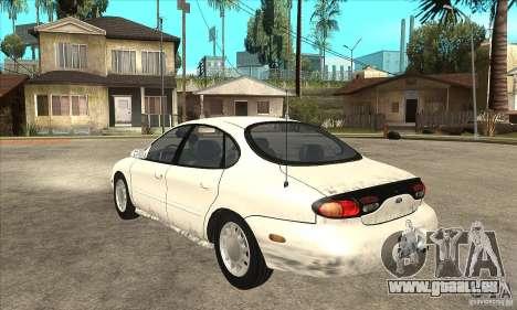 Ford Taurus 1996 für GTA San Andreas zurück linke Ansicht