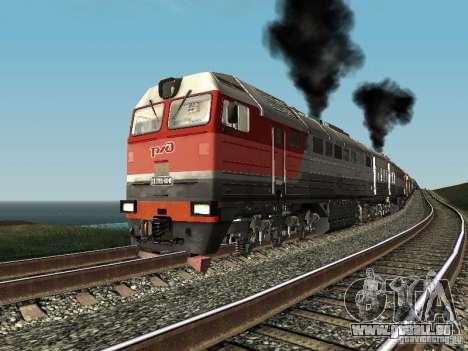 2te116u-0040 RZD für GTA San Andreas