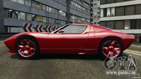 Lamborghini Miura 2006 pour GTA 4 est une gauche