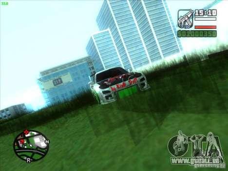Mazda RX-7 Drift Version pour GTA San Andreas vue intérieure
