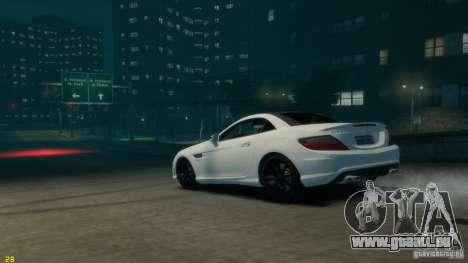 Mercedes-Benz SLK55 R172 AMG 2011 v1.0 für GTA 4 linke Ansicht