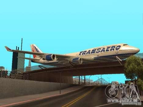 Boeing 747-400 pour GTA San Andreas vue de droite