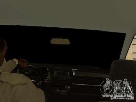 VAZ 2108 Gangsta Edition für GTA San Andreas Rückansicht