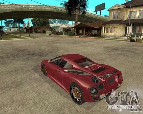 B-Engineering Edonis für GTA San Andreas linke Ansicht