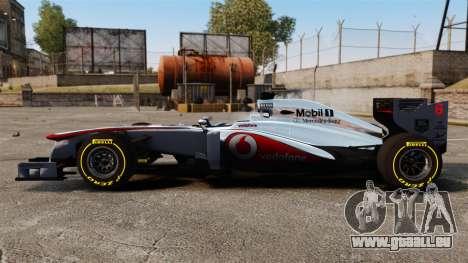McLaren MP4-28 für GTA 4 linke Ansicht