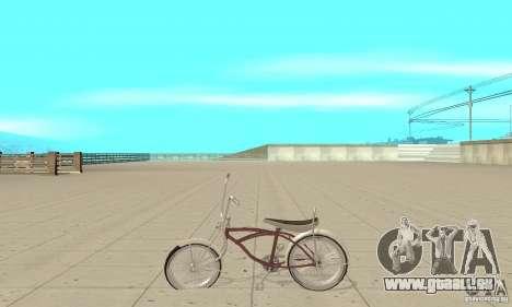 Lowrider Bicycle pour GTA San Andreas laissé vue