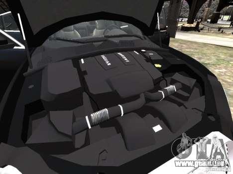 Jaguar XFR für GTA 4-Motor