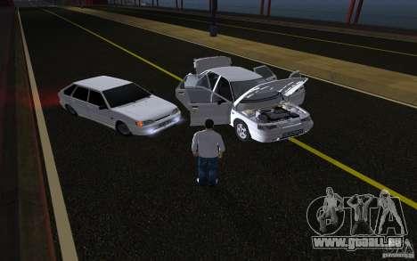 Remote lock car v3.6 pour GTA San Andreas troisième écran