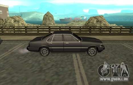 New Sentinel für GTA San Andreas rechten Ansicht