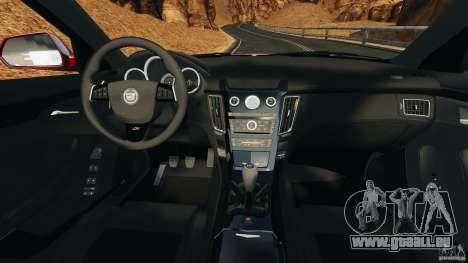Cadillac CTS-V 2009 für GTA 4 Rückansicht