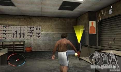 The Holy Grenade pour GTA San Andreas troisième écran