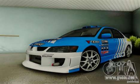 Mitsubishi Lancer Evolution 8 Tuneable für GTA San Andreas
