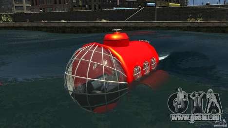Submarine pour GTA 4