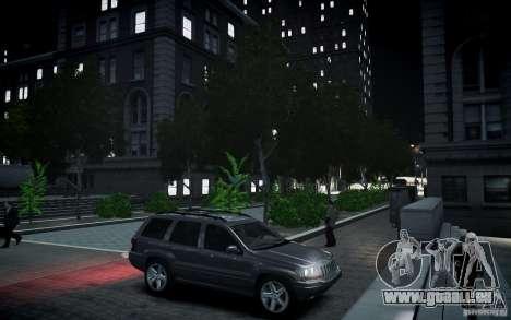 Jeep Grand Cheroke für GTA 4 Seitenansicht