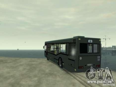 MAZ 103 Bus pour GTA 4 Vue arrière de la gauche