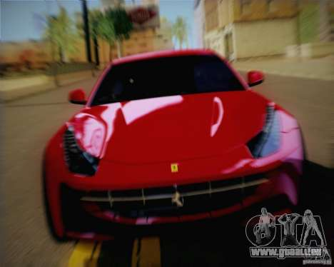 Ferrari FF Sport 2011 für GTA San Andreas zurück linke Ansicht