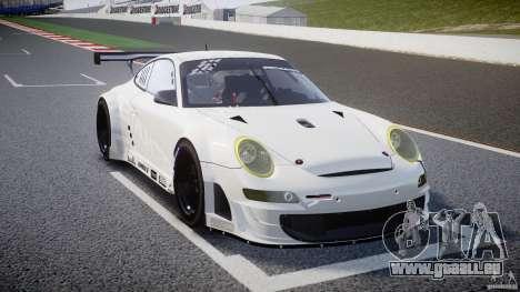 Porsche GT3 RSR 2008 SpeedHunters pour GTA 4 est une vue de l'intérieur