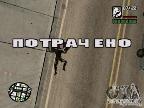 Zombe from Gothic pour GTA San Andreas huitième écran