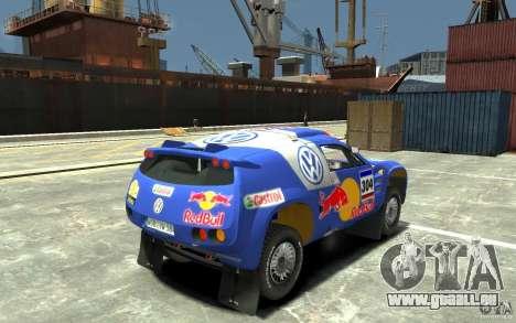 Volkswagen Touareg Rally für GTA 4 rechte Ansicht