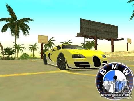 BMW-Tacho für GTA San Andreas zweiten Screenshot