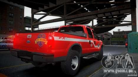 Ford Chief F250 für GTA 4 linke Ansicht